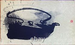 La Petite Théière LIthographie Signée Fabienne Verdier 20 tirages ca1999