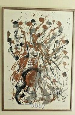 Lithographie ARMAN Fernandez signé EA- Ben Erro nice Combas Klein Cesar niki jr