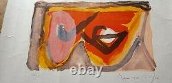 Lithographie Originale Bram Van Velde