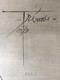 Lithographie Pierre-Yves TRÉMOIS Létreinte