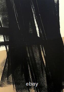 Lithographie de Hans Hartung
