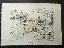 Lithographie signé Salvador DALI Pubol 1977
