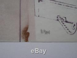 Mara Pol Lithographie Signée Au Crayon Num/99 Handsigned Numb/99 Lithograph Brel