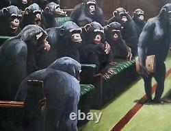 Mason Storm Monkey Parliament /Banksy 2020 Stowe Gallery