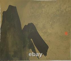 Paysage LIthographie Signée Fabienne Verdier 20 tirages ca1999