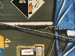 Peter KLASEN lithographie sérigraphie numérotée signée main art industriel