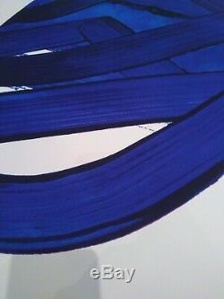 Pierre Soulages Serigraphie 18 -Value 20000$