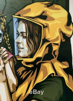 RNST Bienvenue En 2020 Signé xxx/200 Street Art Screen Print