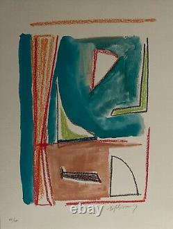 Rafols Casamada Alberto lithographie abstraction art abstrait Rafols Casamada