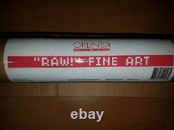 Richard ORLINSKI RAW 500 exemplaires original signée numérotée facture, tube
