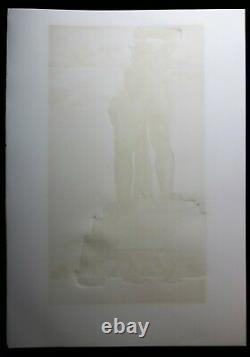 SALVADOR DALI lithographie COLOSSE DE RHODES SIGNEE AU CRAYON papier ARCHES