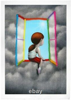 SETH Globepainter Julien Malland Petite fille à la fenêtre At Window COA -banksy