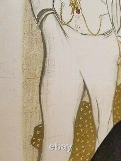 STEINLEN T. A. La Traite des blanches 1899 affiche lithographique en couleurs