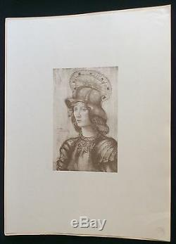 Saint Georges Jeanne Jacquemin Lithographie 1898 L'estampe Moderne