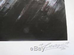 Sérigraphie de LX ONE storm sign-num /ryca/martin whatson//fairey/pure evil