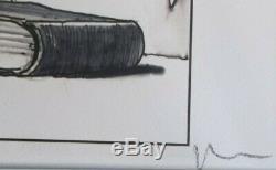 Serigraphie de Milo Manara signée au crayon
