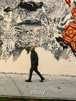 Shepard Fairey (OBEY) & Vhils American Dreamers