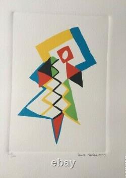 Sonia DELAUNAY, Jazz, lithographie numérotée