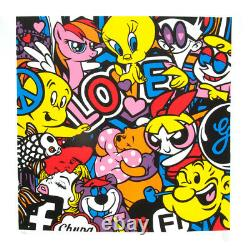 Speedy Graphito lithographie originale Love lithograph Speedy Graphito