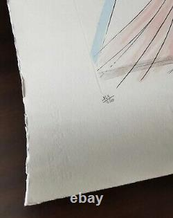 Venus, 1974, Salvador Dali. Lithographie originale signée, numérotée 161/250
